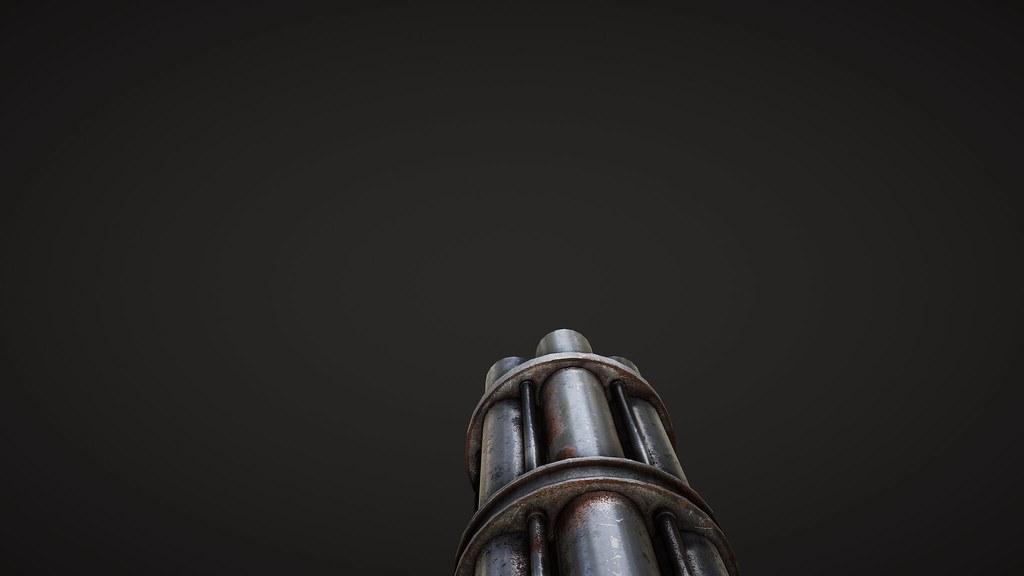 Chain Gun Wip Doom Hd Flickr
