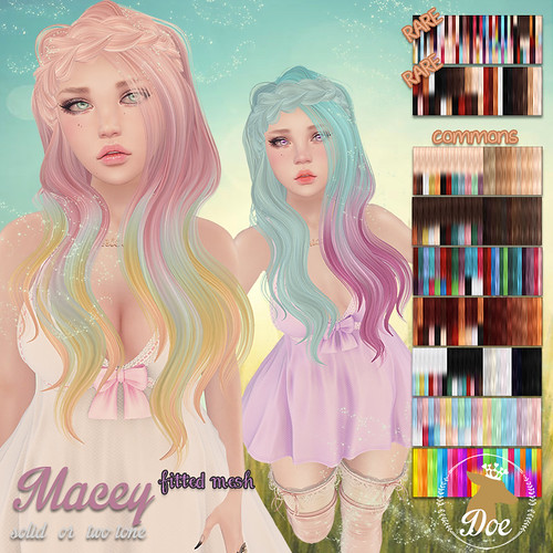 Macey @ Whimsical | by Helyanwe @ ploom/Paper Rabbit