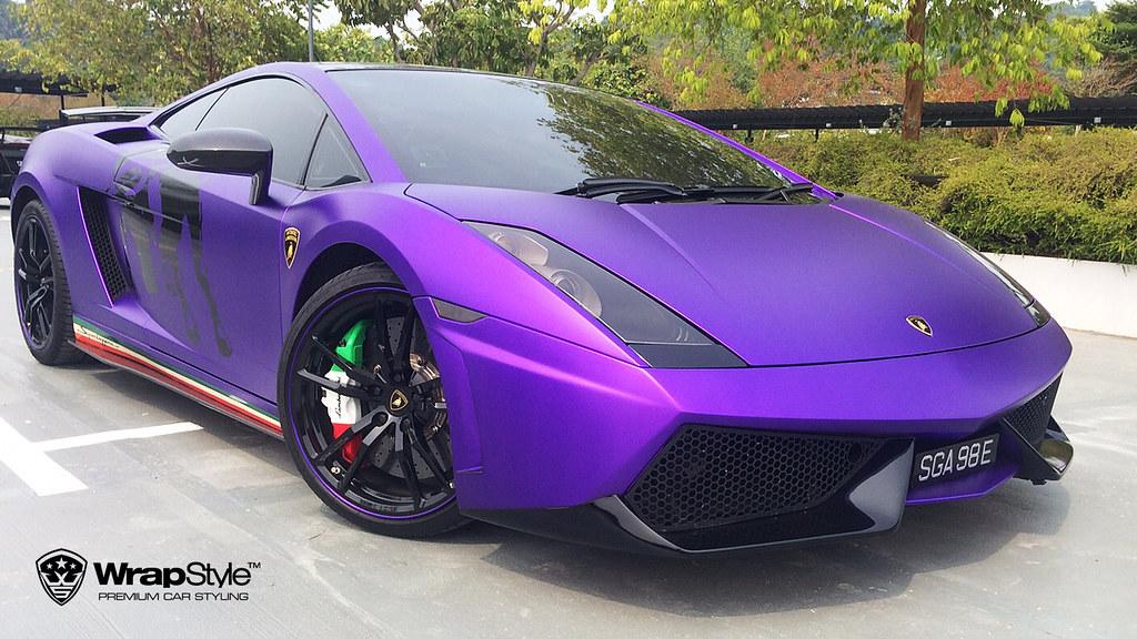 ... Lamborghini Gallardo   Abstract Bull_3 | By WrapStyle