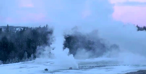 Beehive's Indicator Geyser in eruption (7:30-7:46 AM, 3 February 2016) 1 | by James St. John