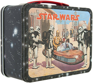 1977 Star Wars lunchbox - landspeeder front | by Tom Simpson