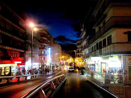 Benidorm by night 01 | by worldtravelimages.net