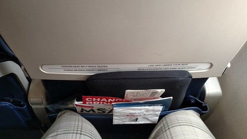 Kenya Airways E190 Legroom | by BertoUCF