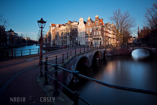 Street Lamp + Railing - Amsterdam, The Netherlands | by www.caseyhphoto.com