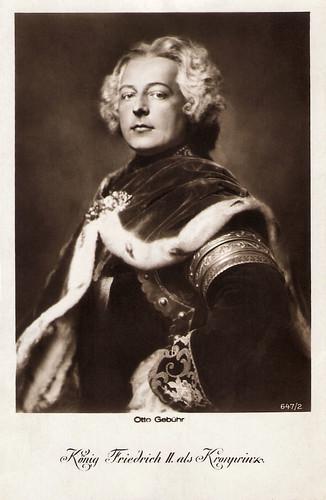 Otto Gebühr in Fridericus Rex