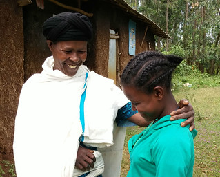 Lakech, 13, and her Mother. | by UNICEF Ethiopia