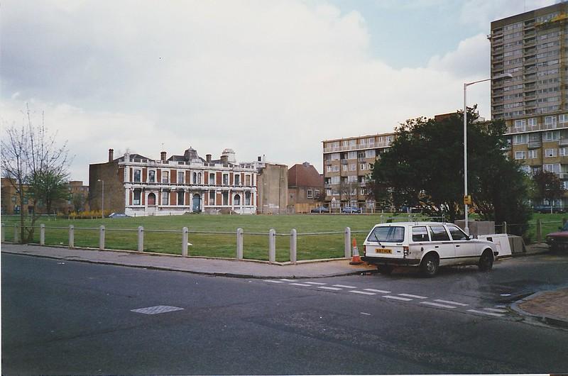 Bethnal Green, Norah Street, Pollards Row