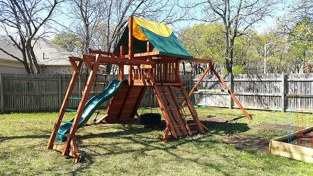 Rustler Swing Set Rustler 5 Swing Set Tarp Roof Rope La Flickr