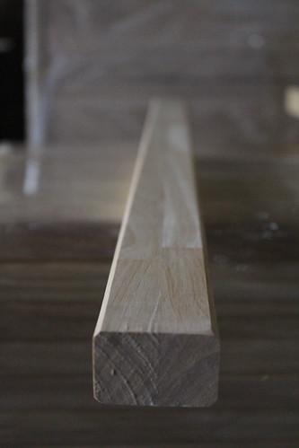 Thanh ghép dọc gỗ cao su bo 4 cạnh