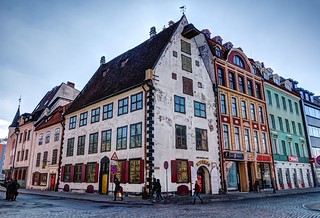 Riga old town HDR panorama | by Zygios