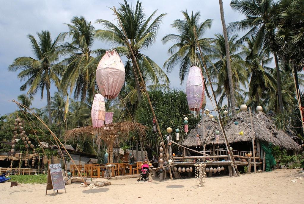 Plage de Klong Khong sur l'île de Koh Lanta.