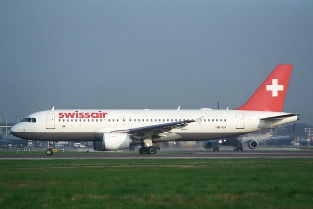 HB-IJA Airbus A.320-214 Swissair