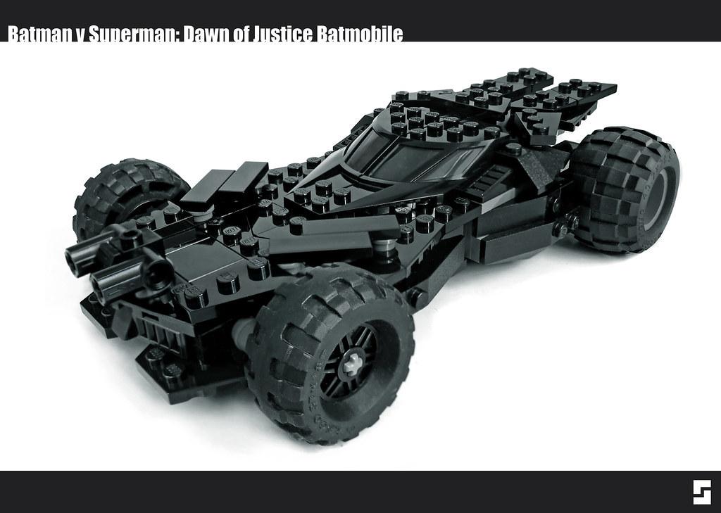 Lego Batman V Superman Batmobile Redux Remade My Batmobile Flickr