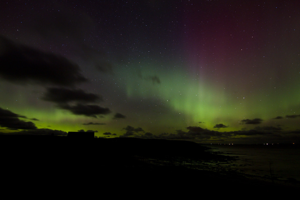 Image result for orkney aurora borealis