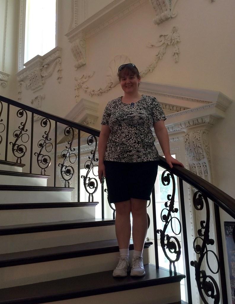 ... Atlanta   Atlanta History Center   Swan House   Spiral Staircase   Erin  | By Jared422_80