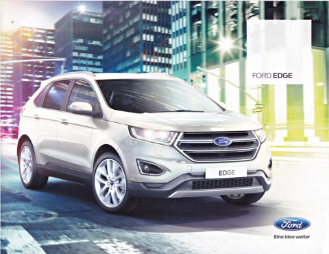 Ford Edge Brochure   By Sjoerd Wijsman