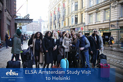 ELSA Amsterdam Visit to Helsinki 2016