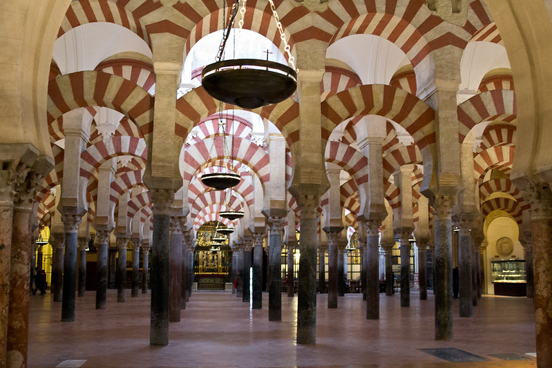 Inside the Mezquita, Cordoba, Spain | packmeto.com