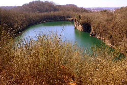 Harold Lambert Overlook - Fort Dickerson Quarry