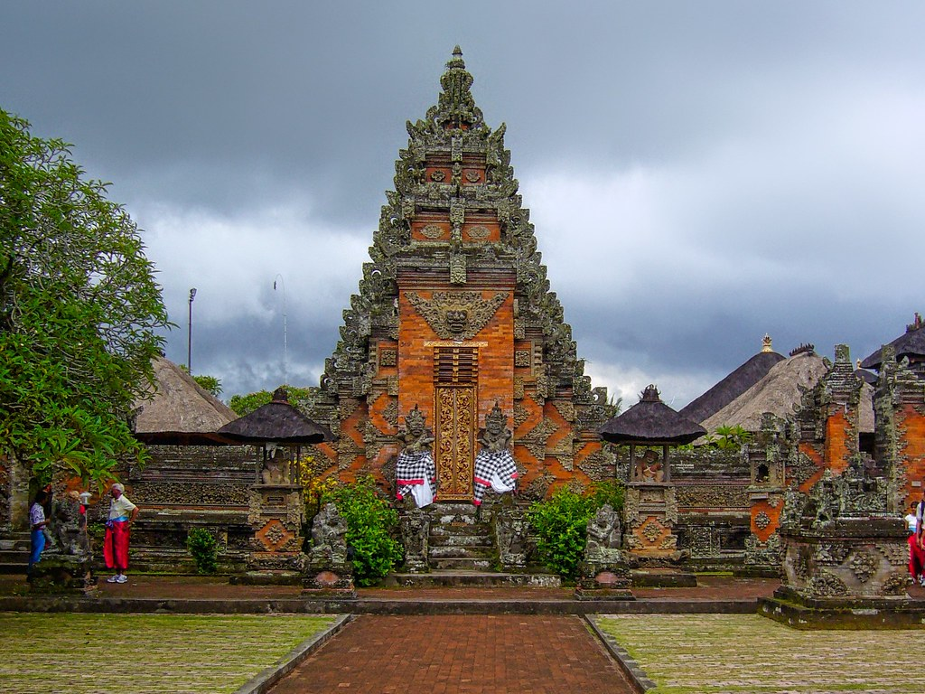 Hindu temple on Bali, Indonesia