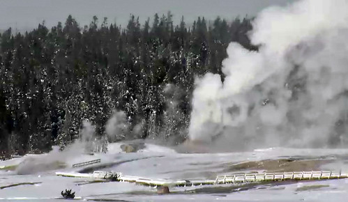Lion Geyser eruption (1:11-1:15 PM, 24 December 2015) 1 | by James St. John