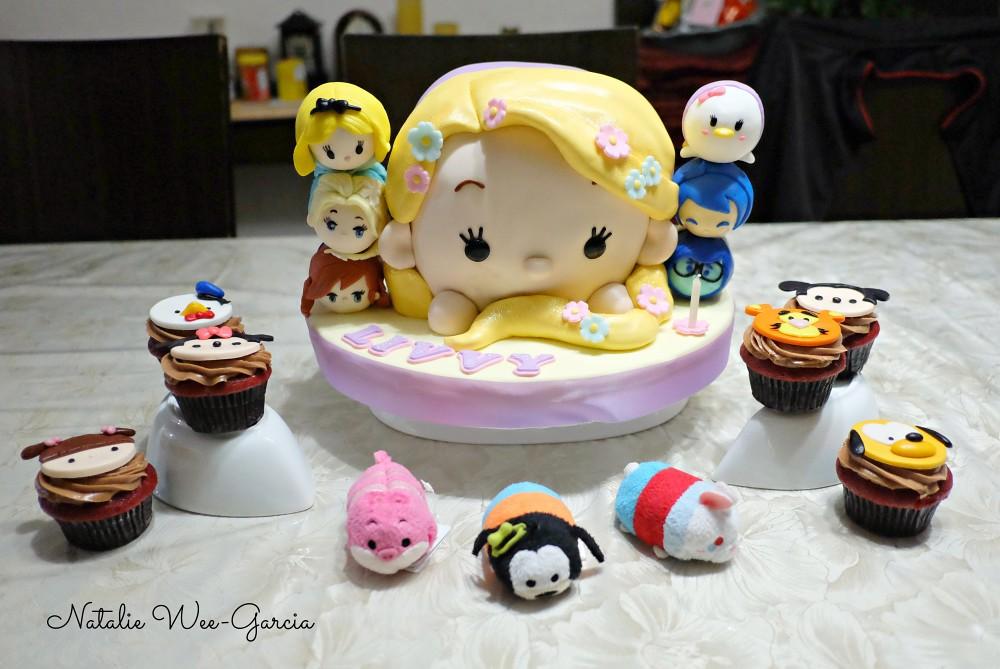 My Daughters 7th Birthday Cake Tsum Tsum Theme Natalie Garcia