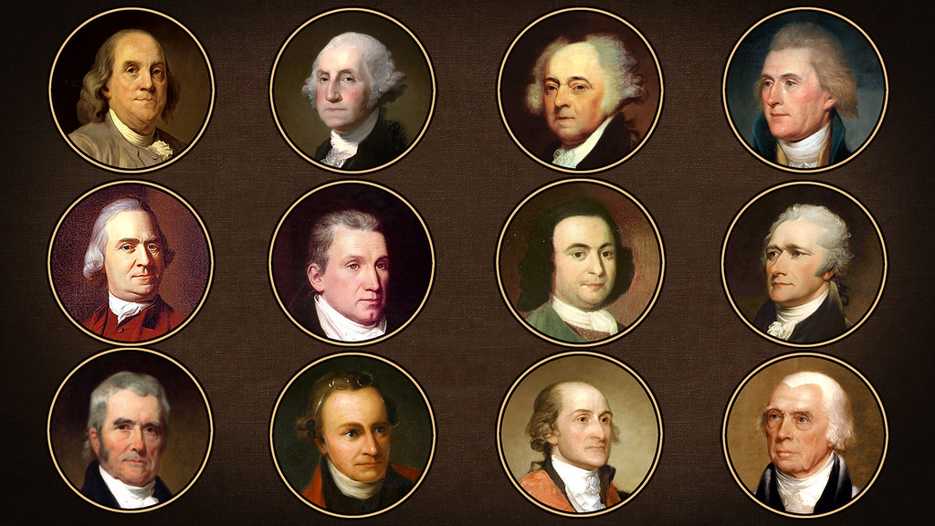 founding fathers as the heroes of the unites states