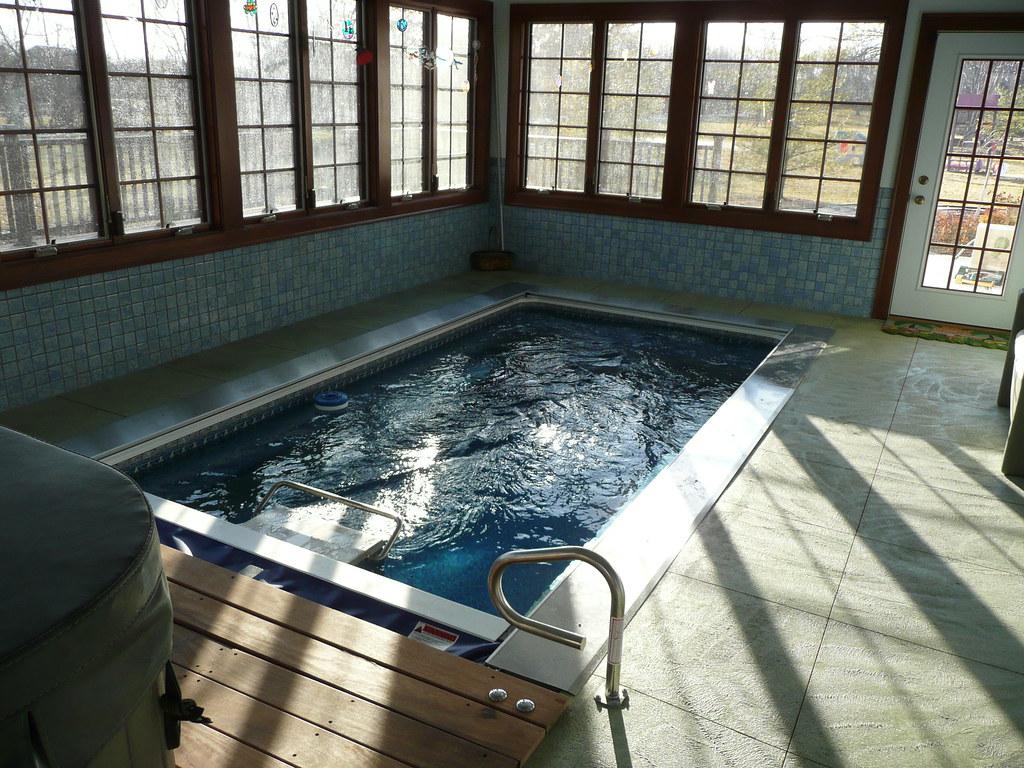 Endless Pools® swimming machine   This indoor, inground inst…   Flickr