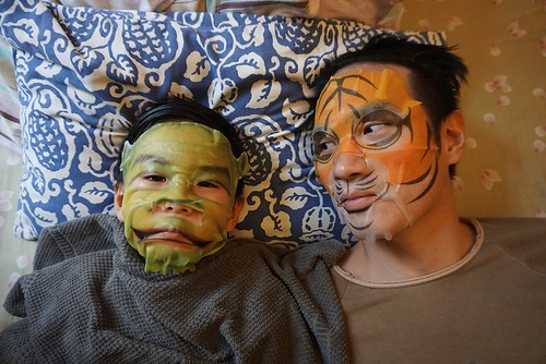 face mask daddy and son 6 | by Mochachocolata-Rita