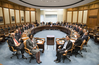 Boardroom Announcement of the MD Selection | by International Monetary Fund