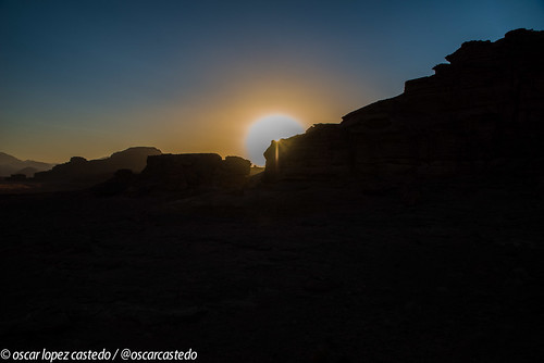 Sunset in Wadi Rum | by ocastedo