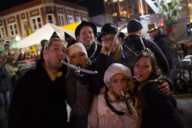New Year's Eve Celebration in Downtown Roanoke
