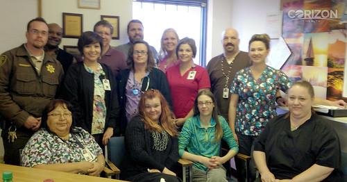 arizona correctional officer thanks corizon health medical u2026