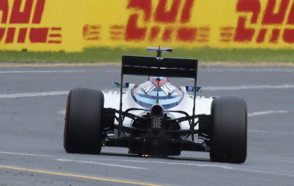 Felipe Massa   Williams FW38  During the final qualifying