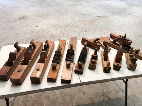 15 Wooden block & cabinet planes | by thornhill3