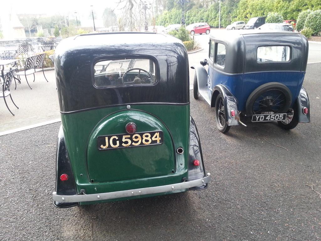 Vintage Austin Motor Cars - Tullyglass Hotel Co. Antrim Ir… | Flickr
