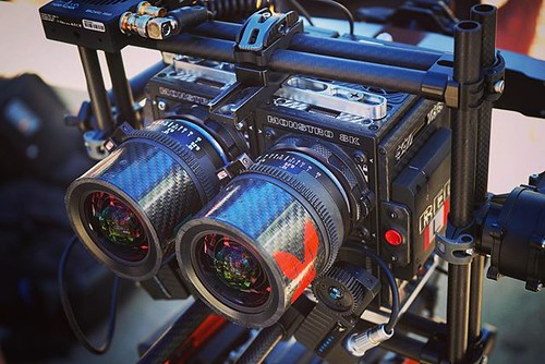 Drone-capable, dual Red Camera, 3D filming rig from Wild Rabbit Aerial WildrabbitAerial.com Tiffen Open House & Stabilizer Gear Expo Checking out a ton of cool, state-of-the-art moviemaking equipment. @tiffencompany @officialsteadicam @wildrabbitaerial #d | by dewelch