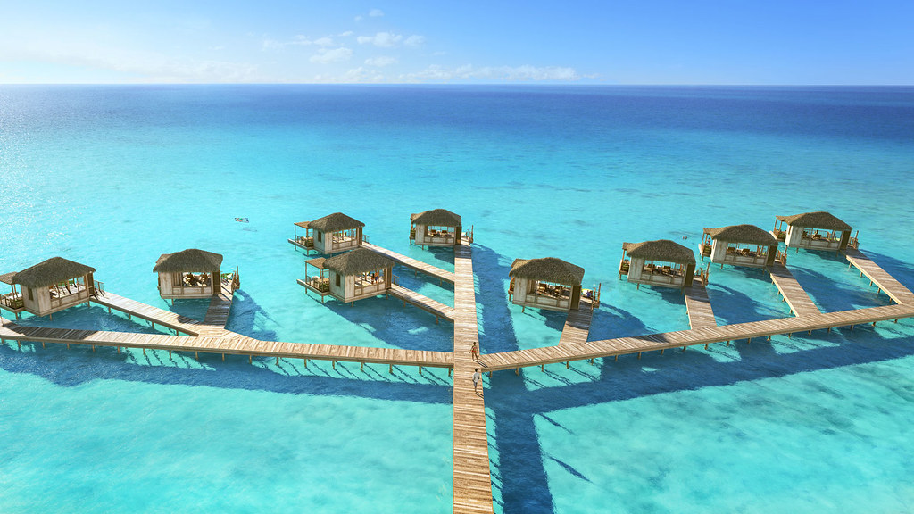 perfect day island cococay bahamas overwater cabanas flickr