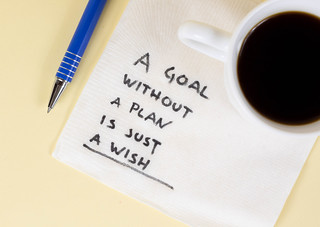 A goal without a plan is just a wish | by wuestenigel