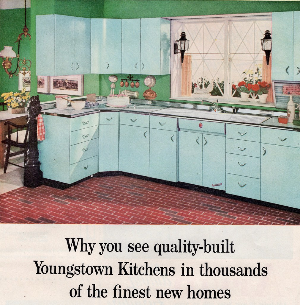 Youngstown Kitchens 1956 | By Barbiescanner Youngstown Kitchens 1956 | By  Barbiescanner