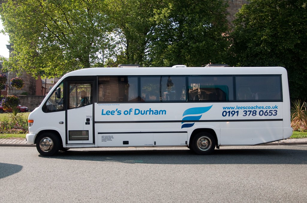 Lee S Of Durham Mercedes Bus Here Seen In Durham City On Flickr