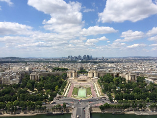 Paris from Tour Eiffel | by noshtradamus