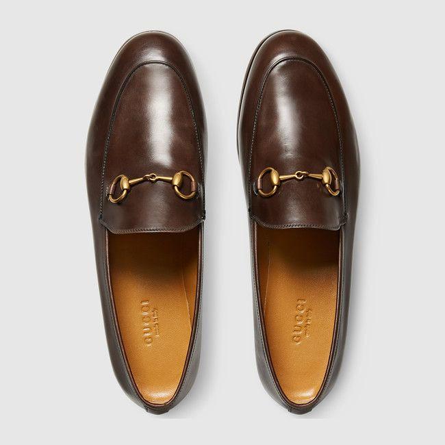 Gucci Chaussures   Gucci Mocassin en cuir Jordaan   via Mode…   Flickr 16857bcd2b8