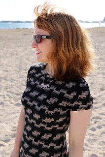 Capital Chic Patterns Sangria Dress | by English Girl at Home