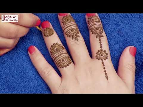 Latest Mehndi Design For Hands Easy Jewelry Mehndi Desig Flickr