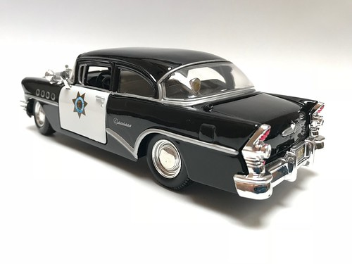 My all time favorite police car, when I was 7 yrs old I watched Highway Patrol series on TV in love with the 1955 Buick ever since | by Bob the Real Deal