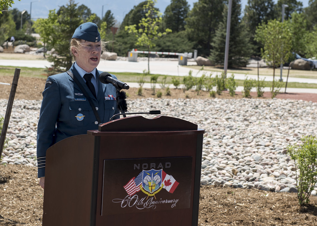 Norad Unveils Monument To Their Fallen Royal Canadian Air Flickr