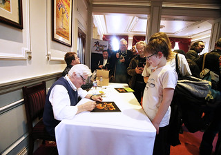 Roger Dean signing | by Elfworld