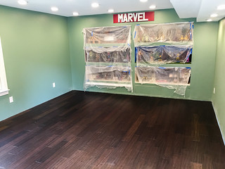 Back room with flooring installed | by Blindzider
