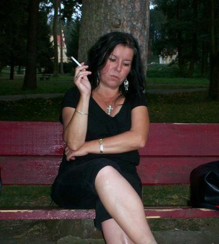 Jajina Smoking Cigarette 21  Jajina Black  Flickr-6751